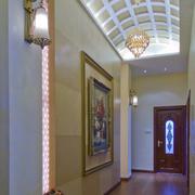 靓丽走廊吊顶装修设计