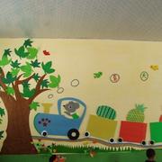 潮流幼儿园壁画设计