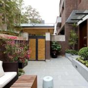都市家庭入户花园装修设计