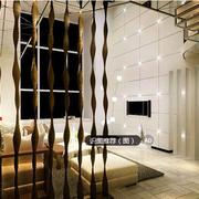 时尚东南亚客厅背景墙装修设计
