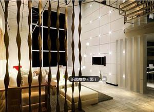 小户型东南亚客厅背景墙效果图