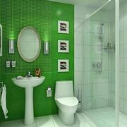 自然卫生间瓷砖设计