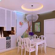 华美欧式客厅酒柜设计