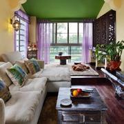 自然客厅背景墙装修设计