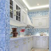 素雅地中海厨房橱柜设计