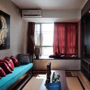 精致东南亚别墅飘窗装修设计