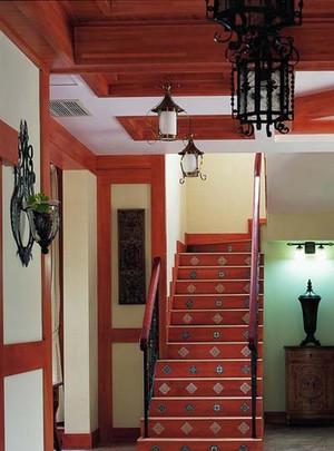 古典复式楼吊顶装修设计