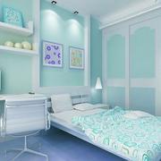 自然小卧室墙衣装修效果图
