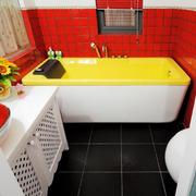 温馨卫生间瓷砖设计