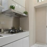 现代简约单身公寓厨房装修