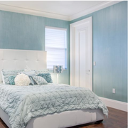 素雅地中海别墅卧室装修设计