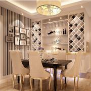 大气欧式客厅酒柜设计