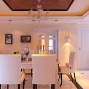 潮流餐厅餐桌设计
