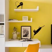 新颖欧式小书房装修