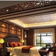 古典中式别墅卧室装修设计