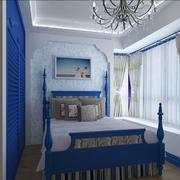 经典地中海卧室背景墙装修