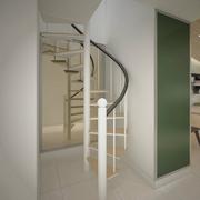 经典阁楼楼梯装修效果图