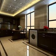 时尚大户型厨房橱柜设计