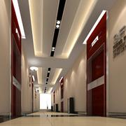 大气客厅走廊吊顶设计