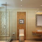 朴实大户型欧式卫生间设计