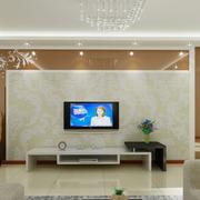 简约液体壁纸电视背景墙装修
