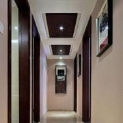 都市酒店走廊吊顶设计