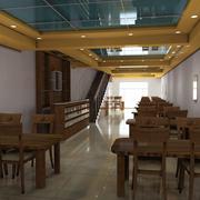 清新餐馆设计