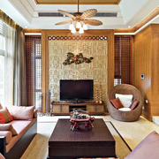 田园东南亚客厅装修