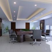 潮流办公室走廊吊顶设计