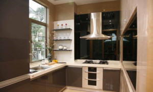 新潮现代风格的厨房橱柜设计图大全