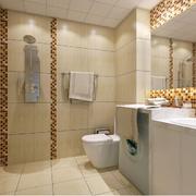 精装卫生间瓷砖设计