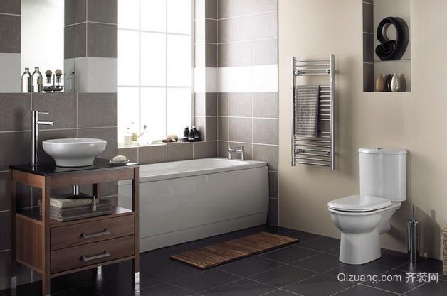 10平米现代卫生间东鹏瓷砖装修效果图