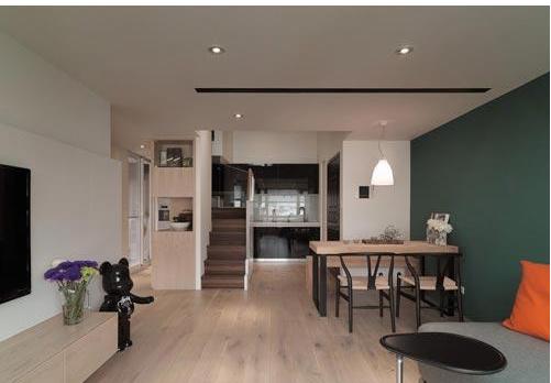 90平米欧式单身公寓装修效果图