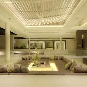 素雅大户型客厅设计