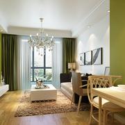 田园现代风格客厅设计
