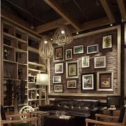 潮流咖啡厅桌椅设计