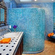 地中海风格别墅卫生间设计