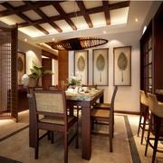 经典东南亚风格吧台设计