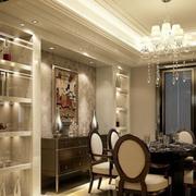 时尚欧式餐厅吊顶设计