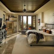都市美式别墅卧室装修设计