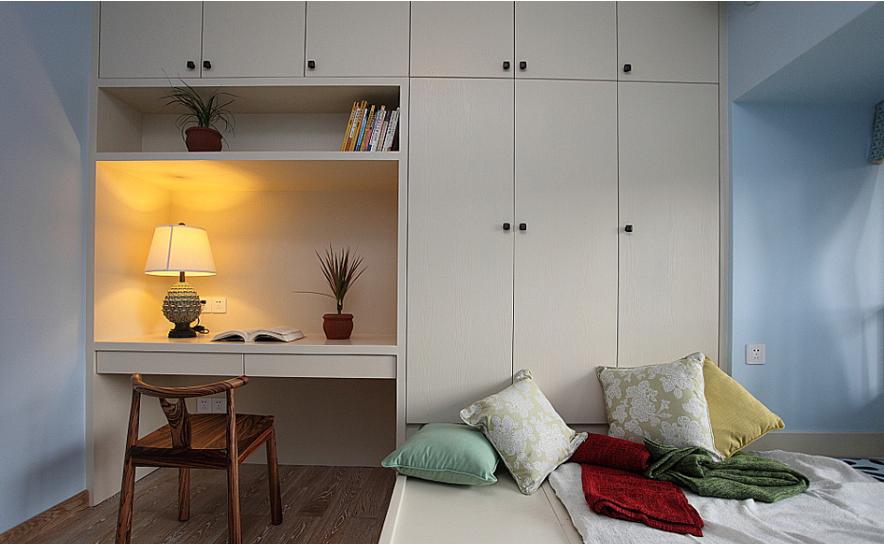 欧式小户型卧室榻榻米装修效果图 齐装网 装修效果图