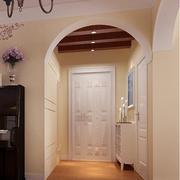 客厅现代玄关90平米装修