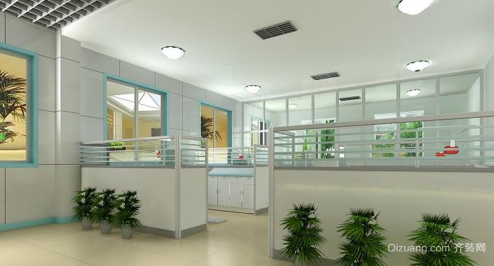 2015现代风格的职员办公室吊顶造型装修效果图鉴赏