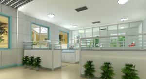 都市办公室吊顶造型设计