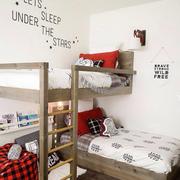 清新单身公寓卧室装设计