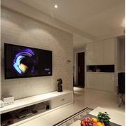 清新三室两厅客厅设计