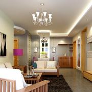 靓丽小户型客厅装修设计