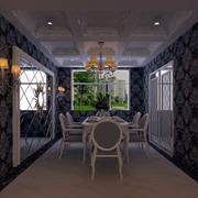 简约欧式餐厅吊顶设计