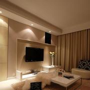 简约三室两厅客厅设计