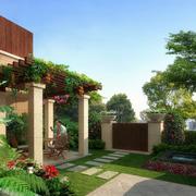大气别墅入户花园装修设计